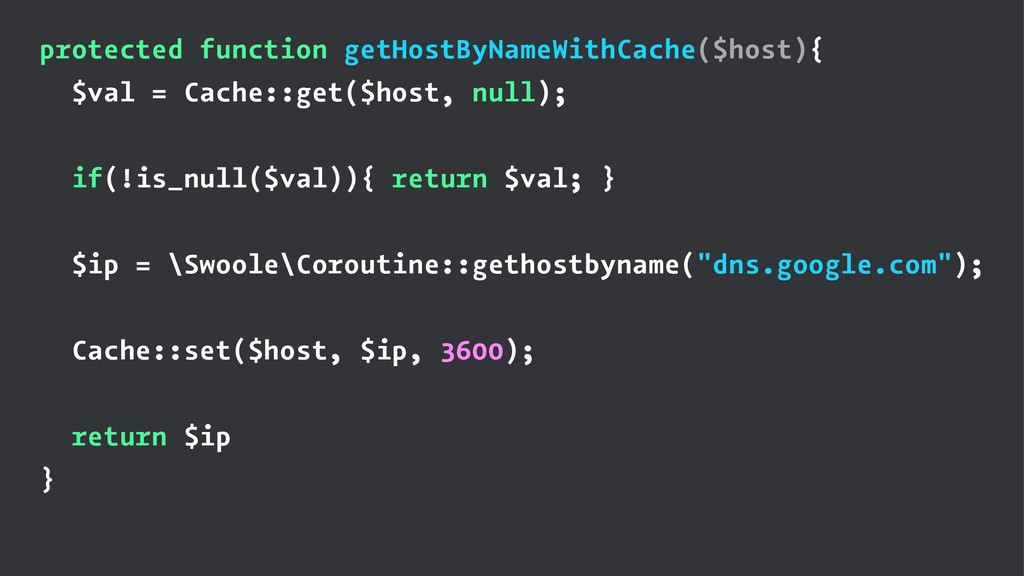 protected function getHostByNameWithCache($host...
