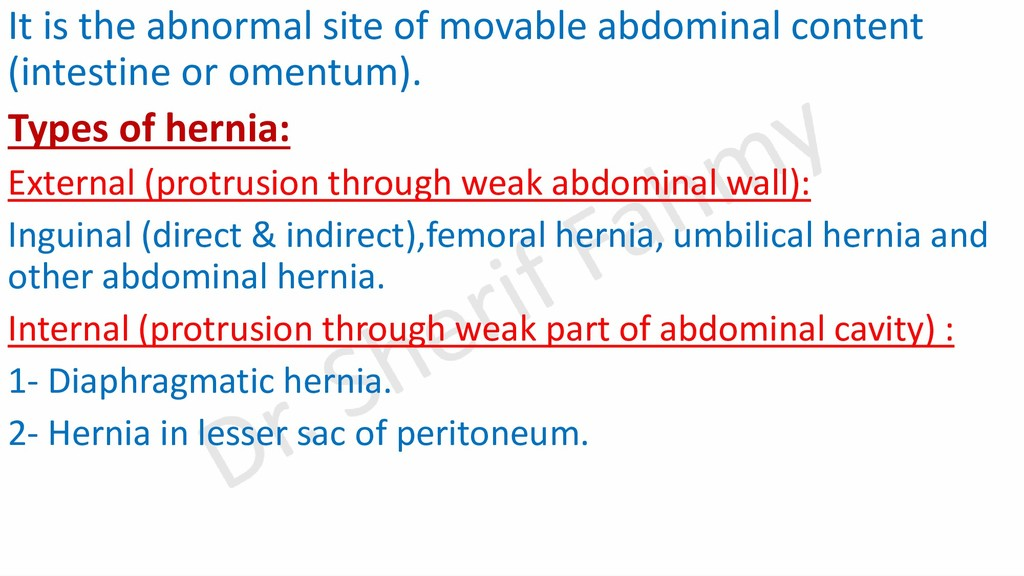 It is the abnormal site of movable abdominal co...