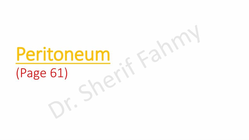 Peritoneum (Page 61)