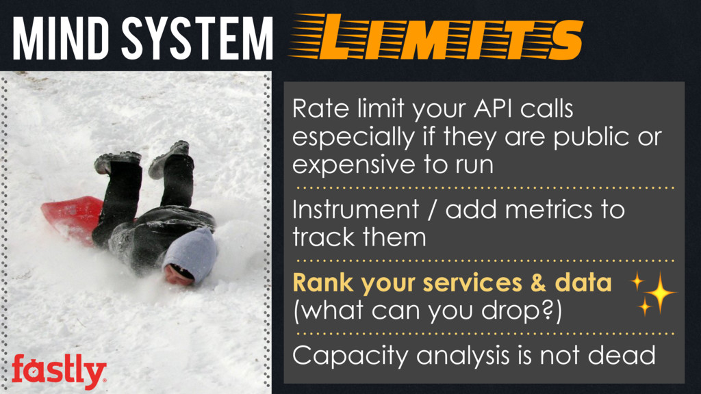 Mind system Limits Rate limit your API calls es...