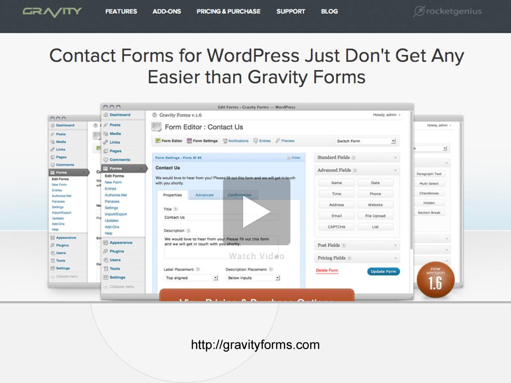 http://gravityforms.com