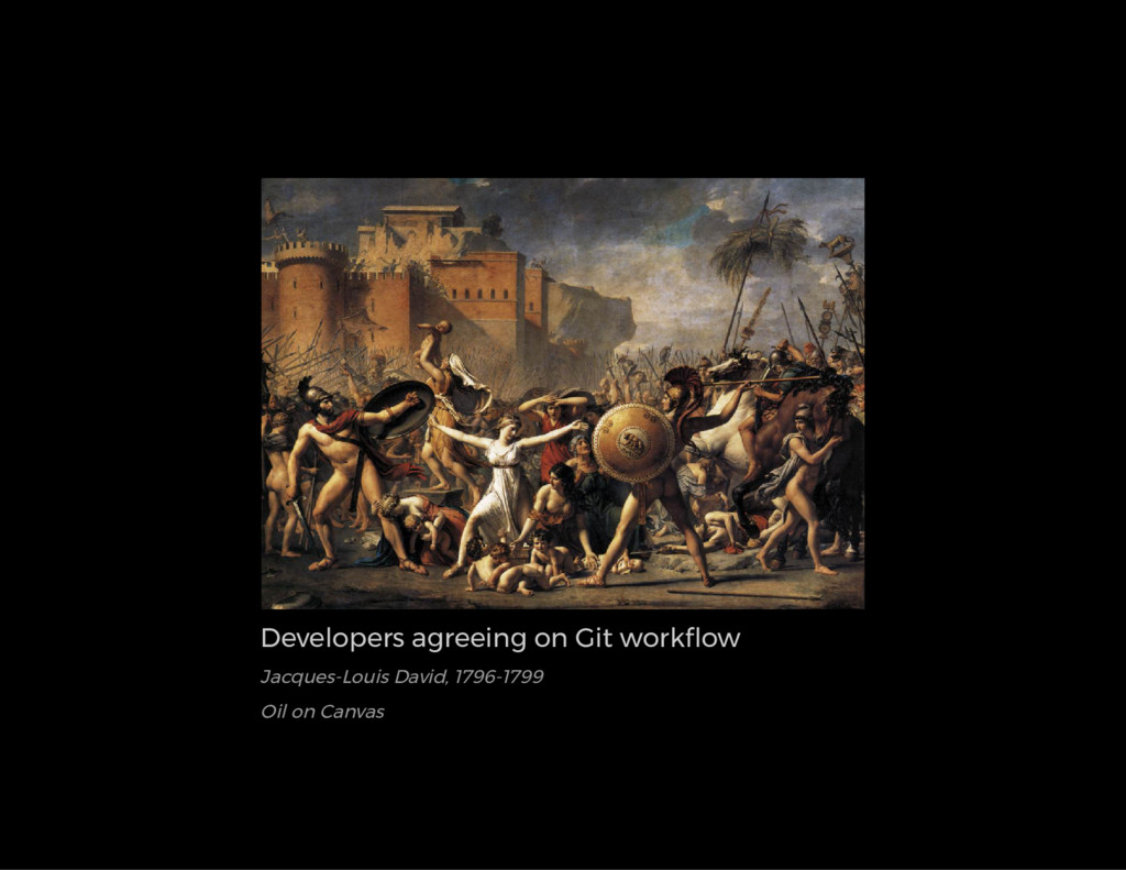 Developers agreeing on Git work ow Jacques-Loui...