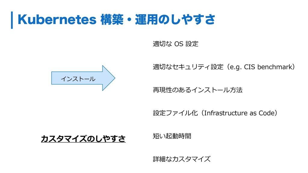 ,VCFSOFUFTߏஙɾӡ༻ͷ͢͠͞ カスタマイズのしやすさ インストール 適切な OS...
