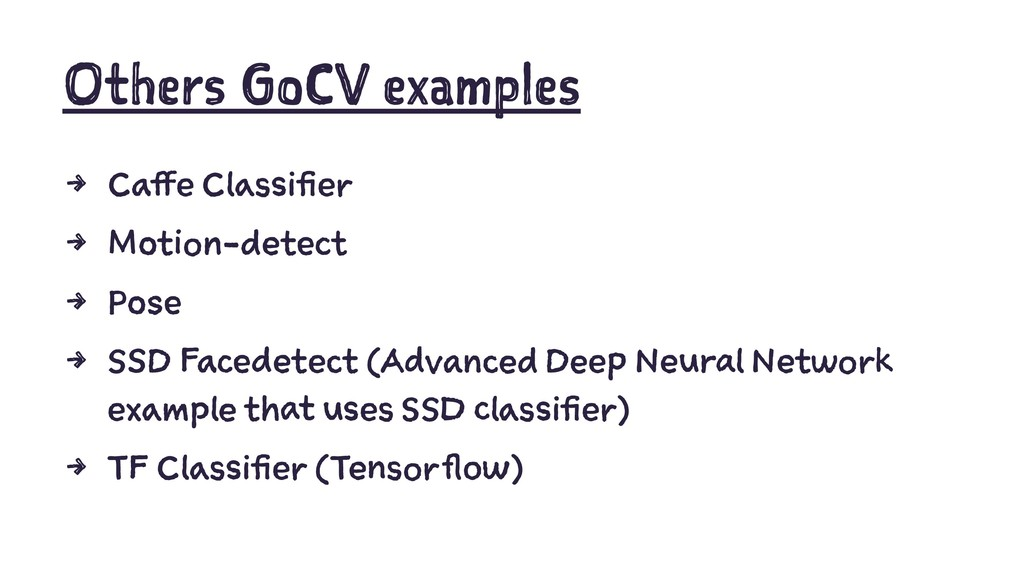 Others GoCV examples 4 Caffe Classifier 4 Motio...