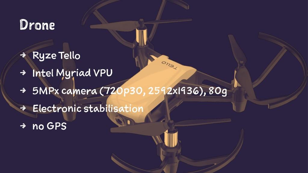 Drone 4 Ryze Tello 4 Intel Myriad VPU 4 5MPx ca...
