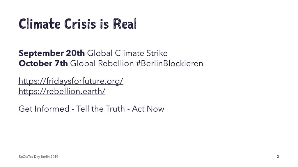 Climate Crisis is Real September 20th Global Cl...
