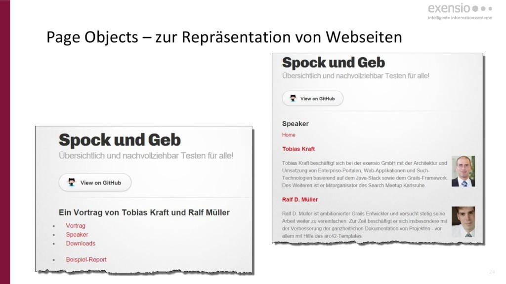 24 Page Objects – zur Repräsentation von Websei...