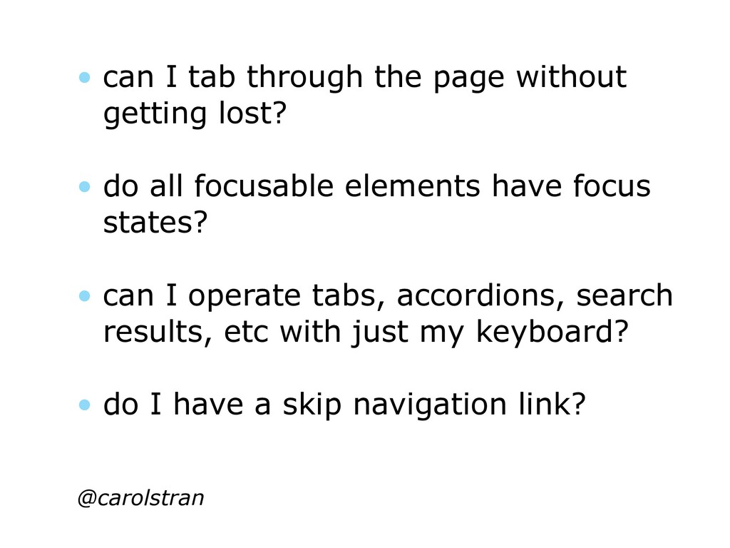 • can I tab through the page without getting lo...