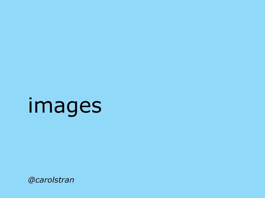 @carolstran images
