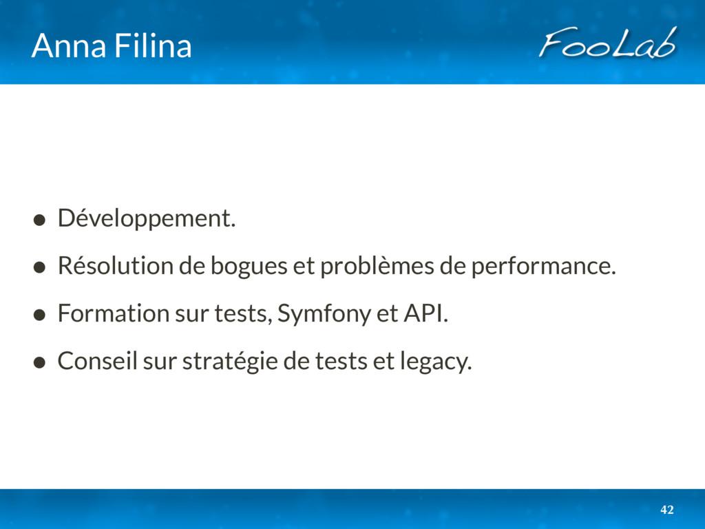 Anna Filina • Développement. • Résolution de bo...