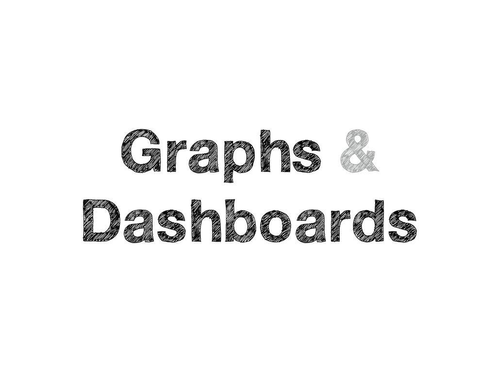 Graphs & Dashboards
