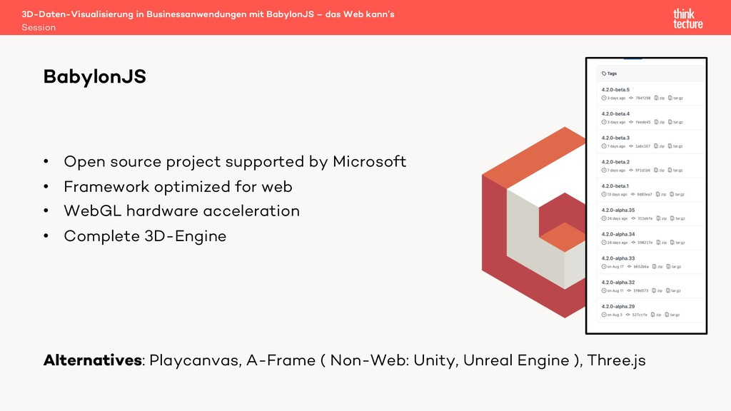• Open source project supported by Microsoft • ...