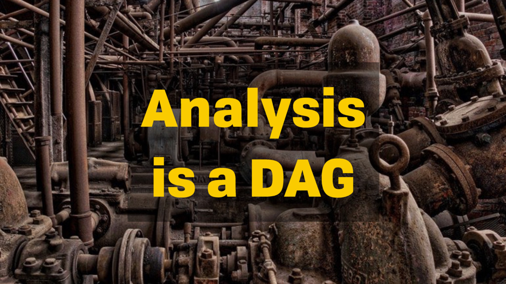 Analysis is a DAG
