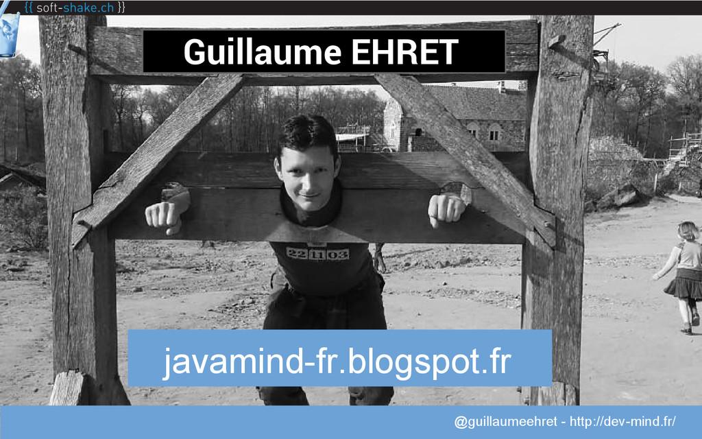 @guillaumeehret Guillaume EHRET javamind-fr.blo...