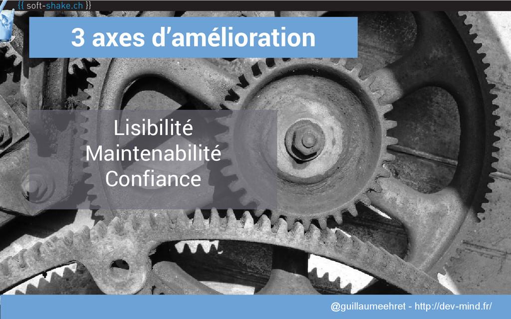 @guillaumeehret 3 axes d'amélioration Lisibilit...