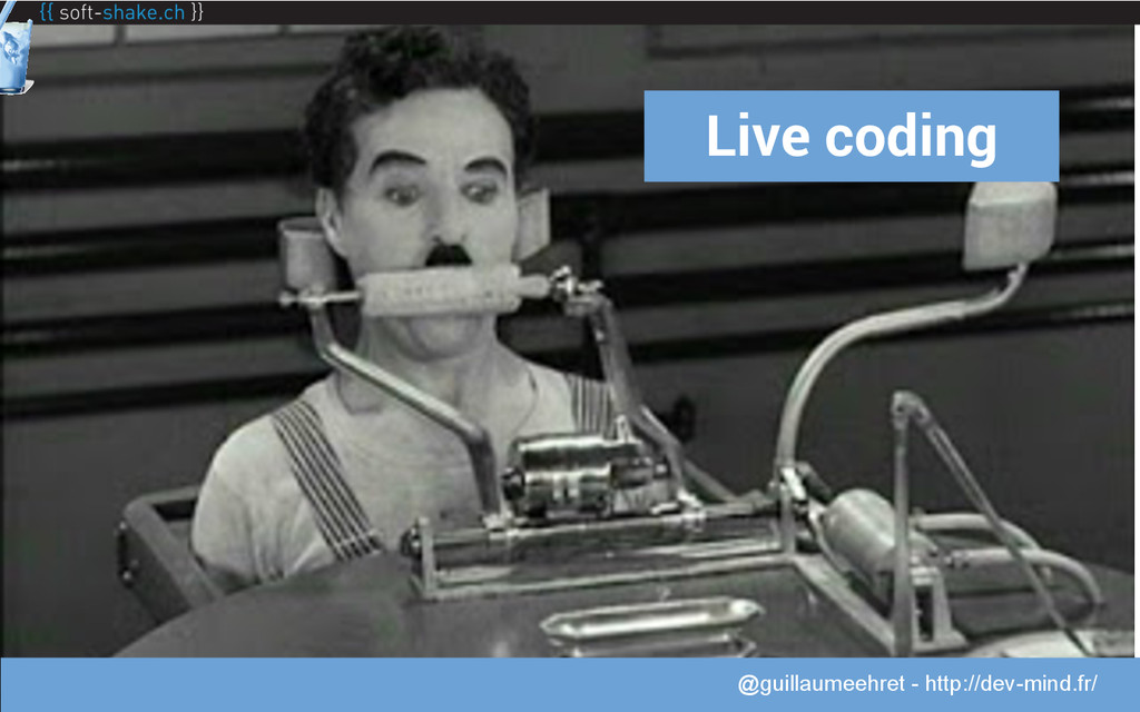 @guillaumeehret Live coding @guillaumeehret - h...