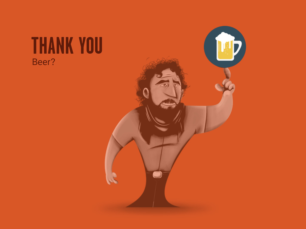 THANK YOU Beer?