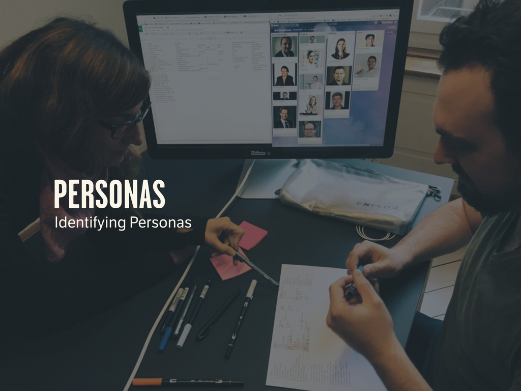 PERSONAS Identifying Personas