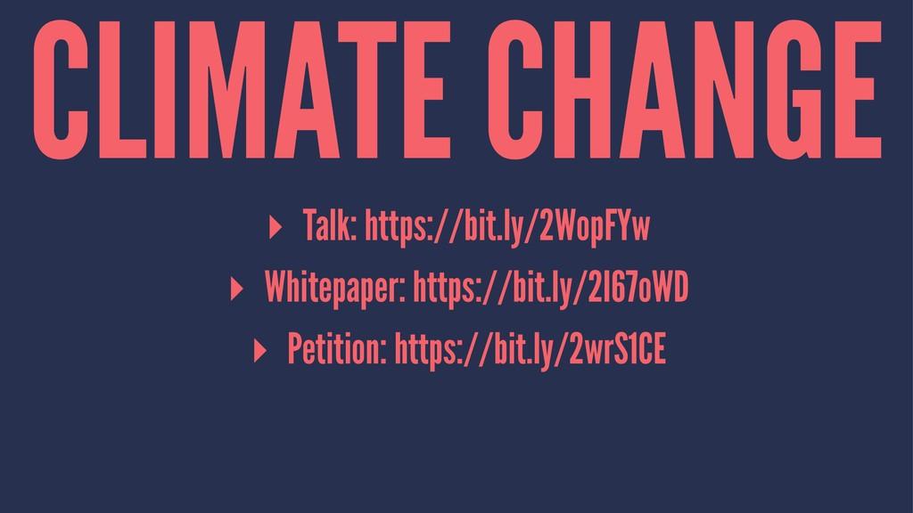 CLIMATE CHANGE ▸ Talk: https://bit.ly/2WopFYw ▸...