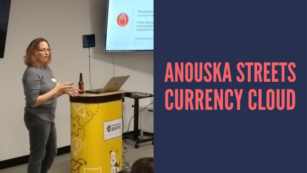 ANOUSKA STREETS CURRENCY CLOUD