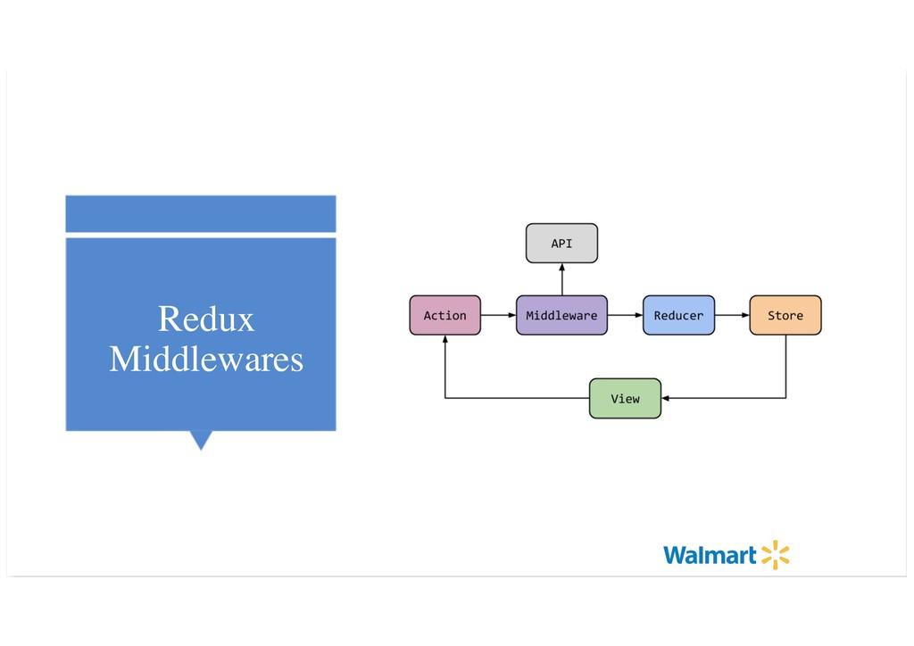 Redux Middlewares