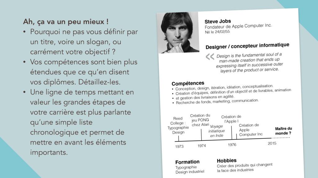 Steve Jobs Fondateur de Apple Computer Inc. Né ...