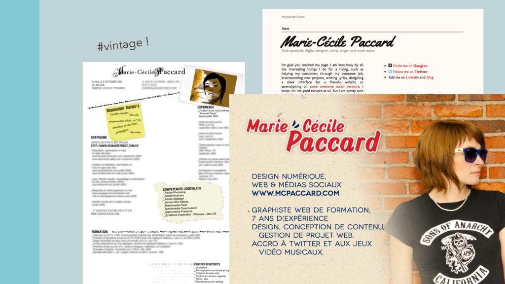 #vintage ! Design numérique, web & médias socia...