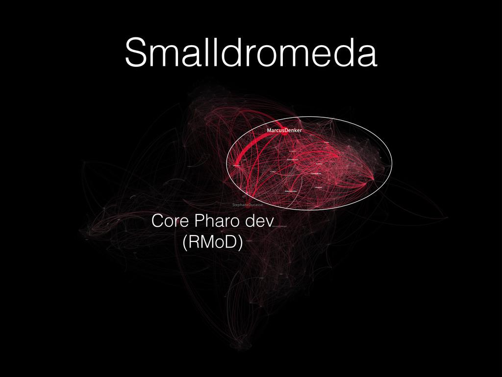 Smalldromeda Core Pharo dev (RMoD)