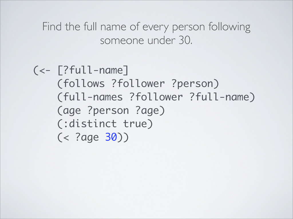 Find the full name of every person following so...