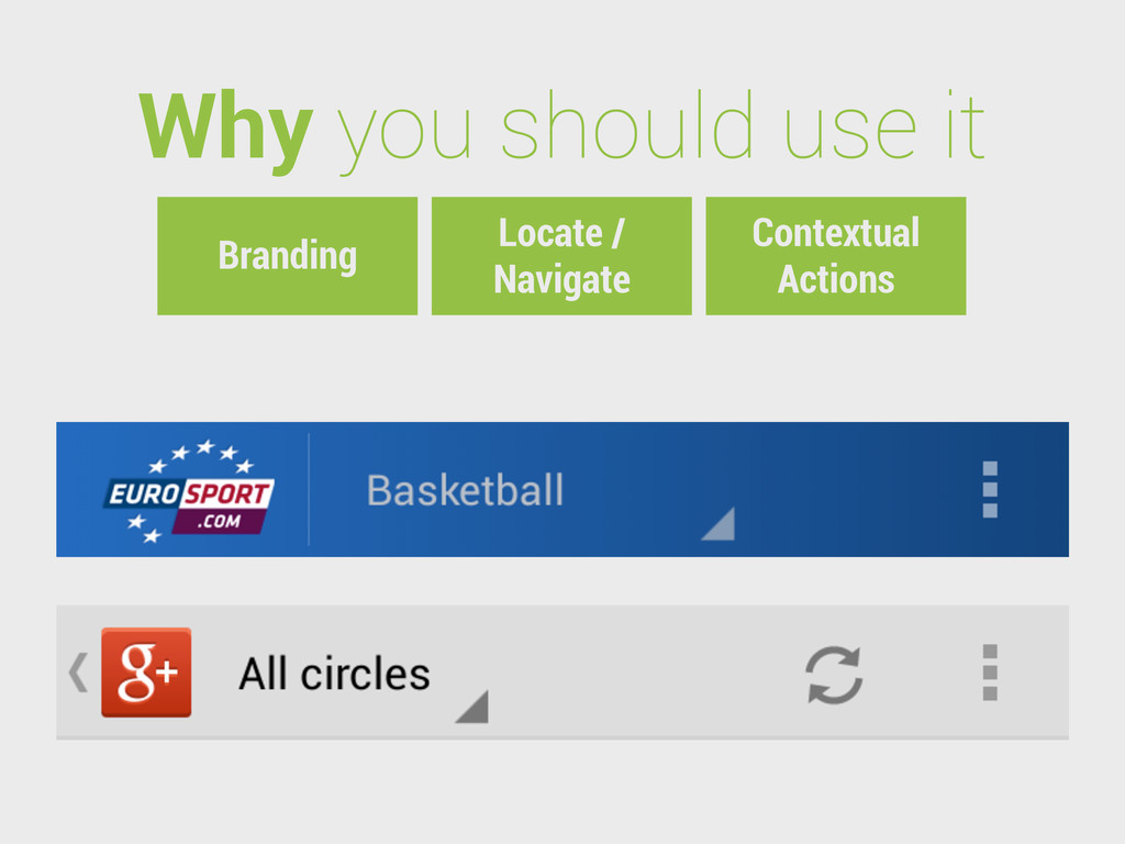Why you should use it Locate / Navigate Context...