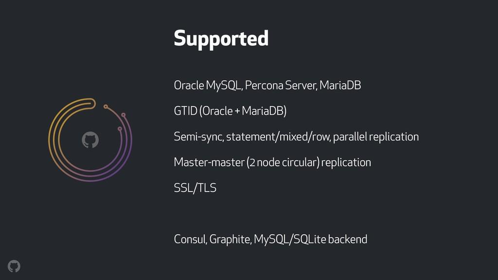 Oracle MySQL, Percona Server, MariaDB GTID (Ora...