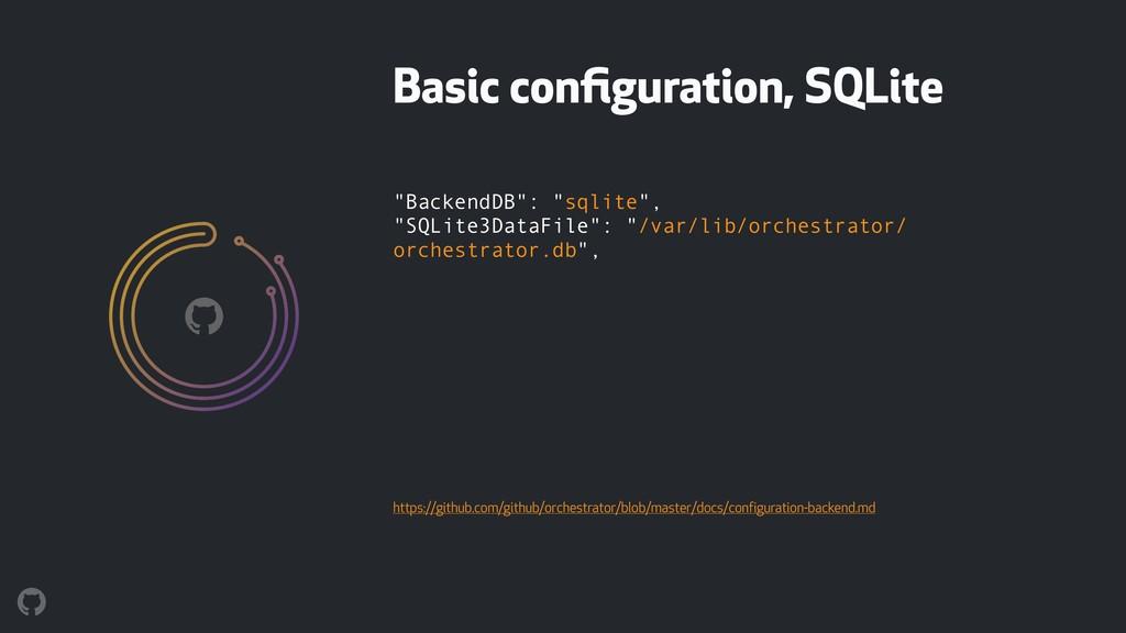 """""""BackendDB"""": """"sqlite"""", """"SQLite3DataFile"""": """"/va..."""