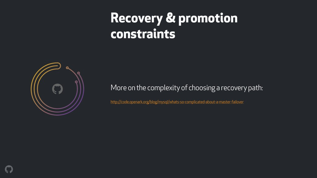 More on the complexity of choosing a recovery p...