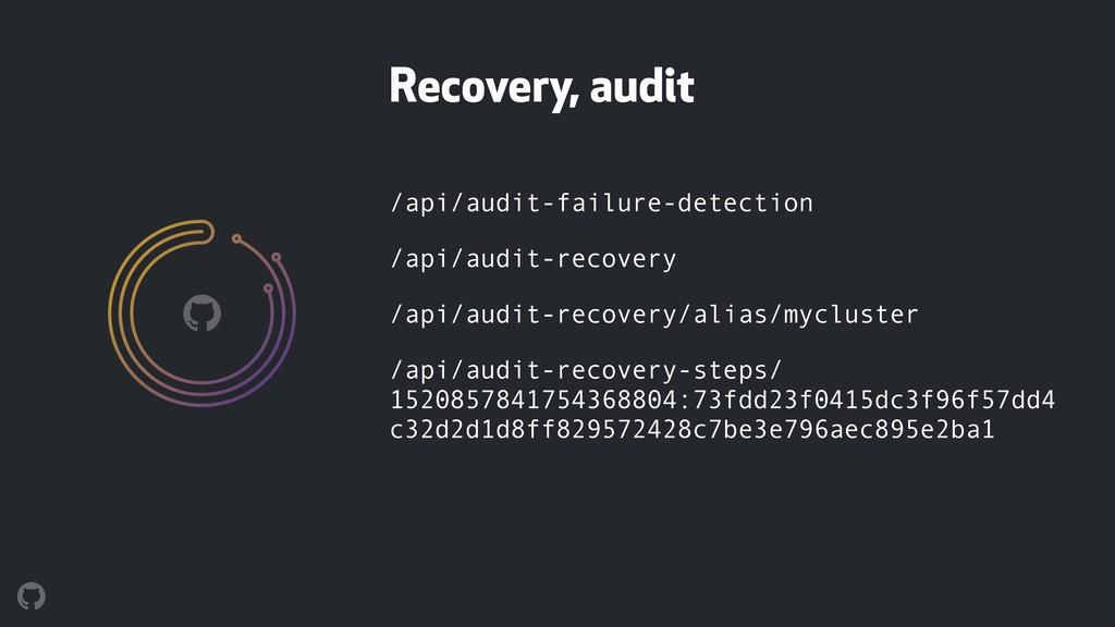 /api/audit-failure-detection /api/audit-recover...
