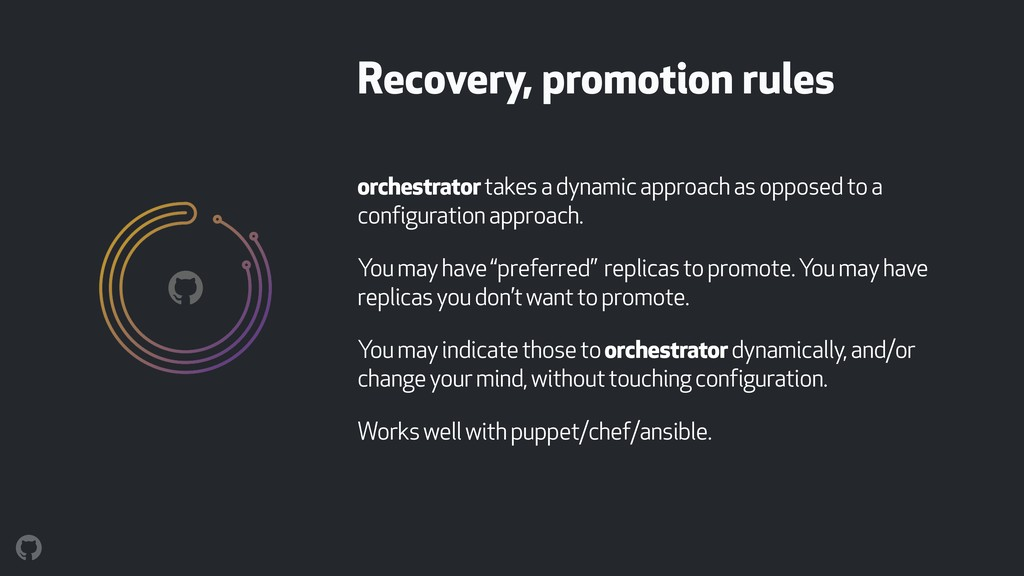 orchestrator takes a dynamic approach as oppose...
