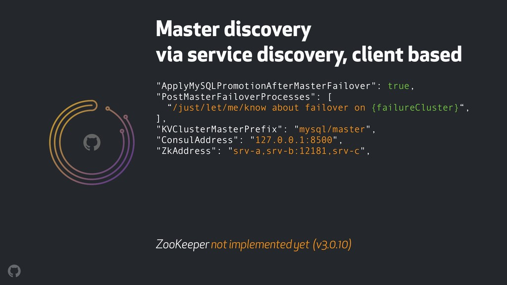 Master discovery 