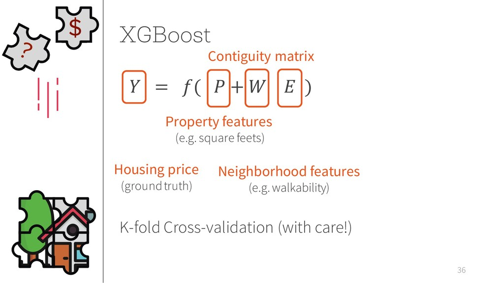 XGBoost 36  = (  +   ) Neighborhood features (e...
