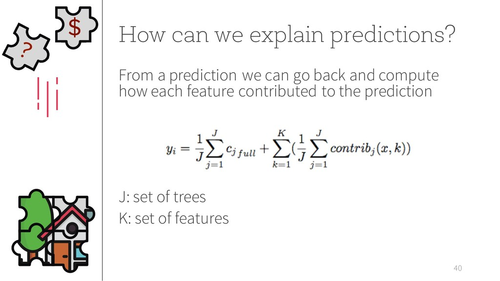 40 How can we explain predictions? From a predi...