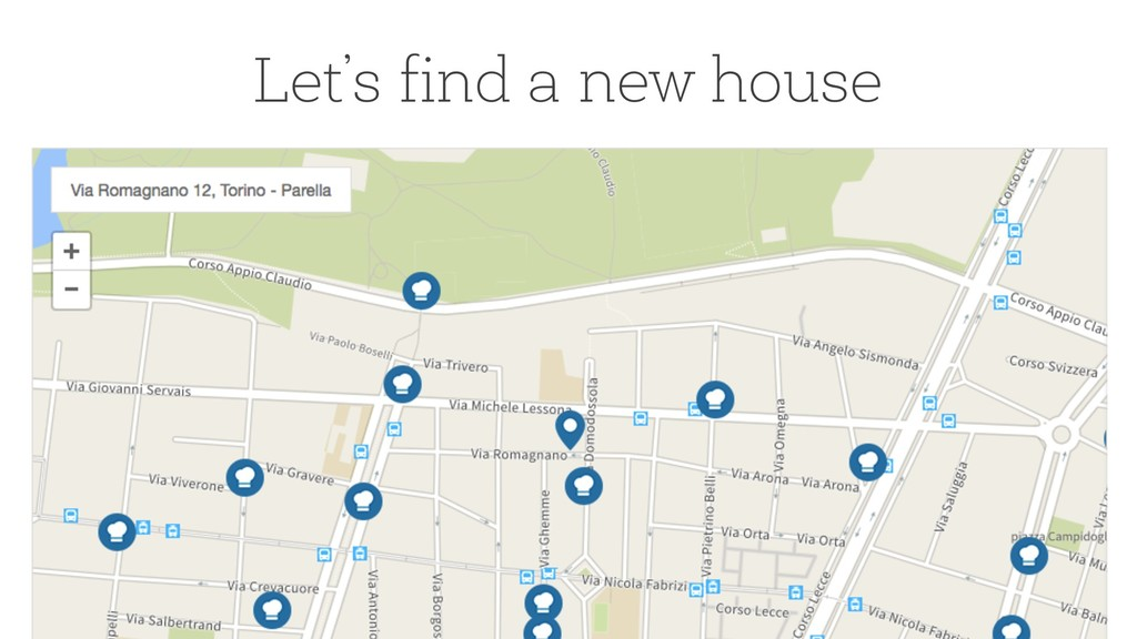 8 Let's find a new house