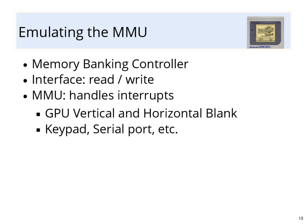 Emulating the MMU Memory Banking Controller Int...