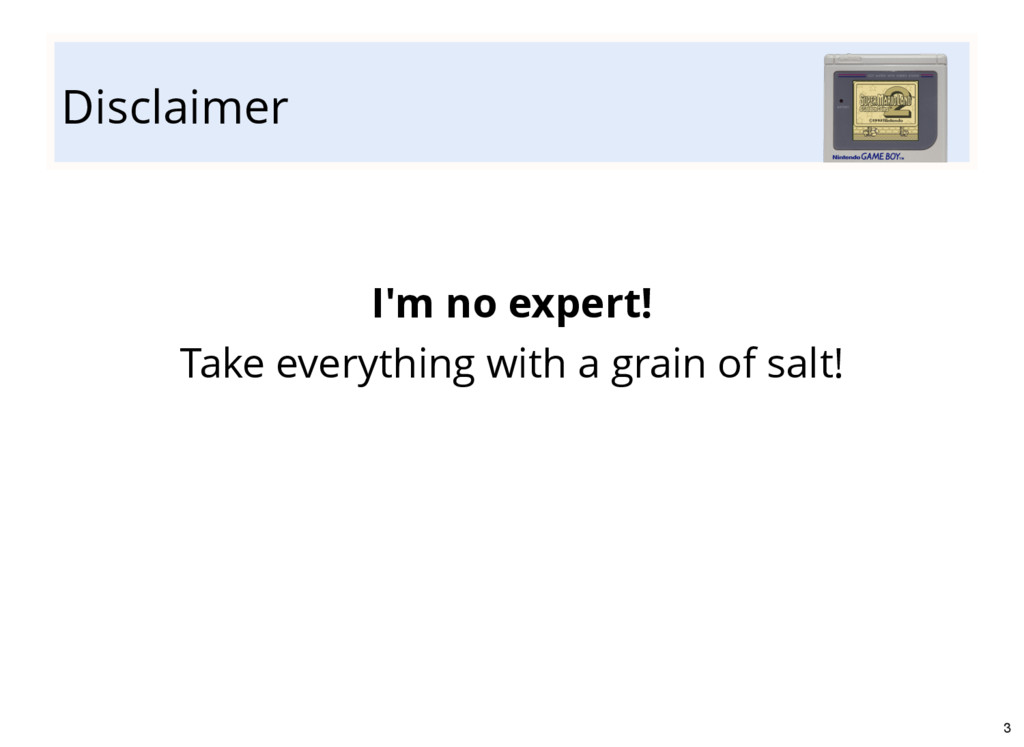 Disclaimer I'm no expert! Take everything with ...