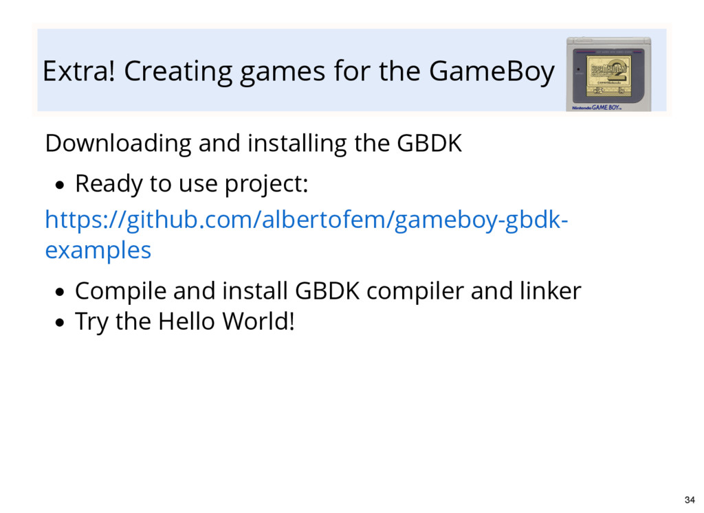 Extra! Creating games for the GameBoy Downloadi...