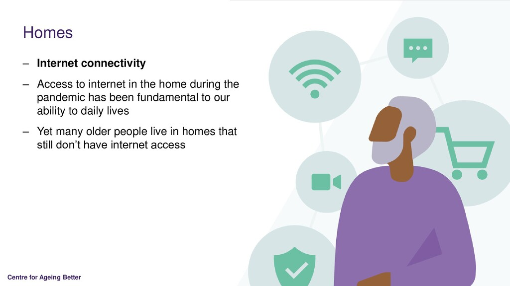 Centre for Ageing Better Homes – Internet conne...