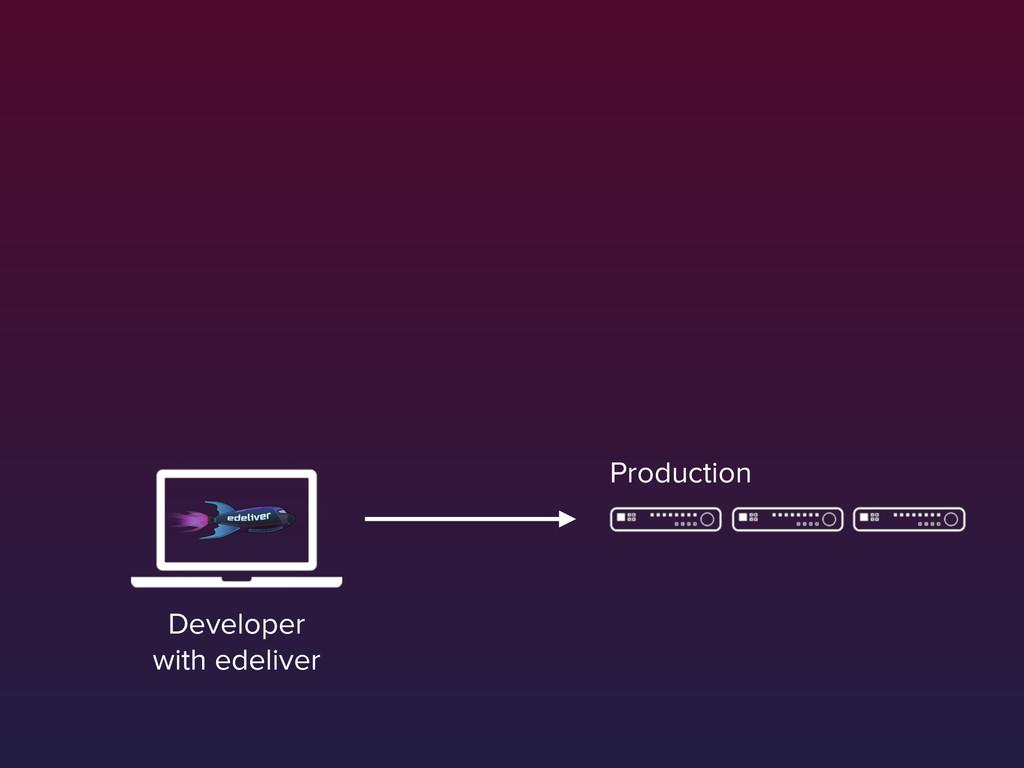 Production Developer with edeliver