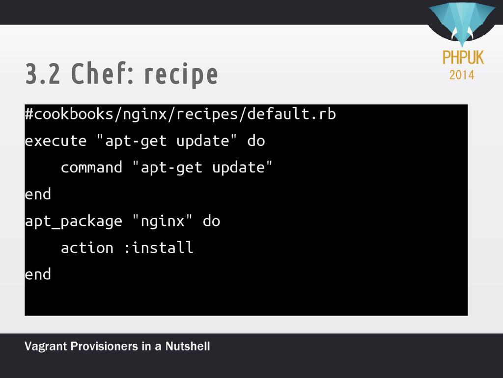 3.2 Chef: recipe #cookbooks/nginx/recipes/defau...