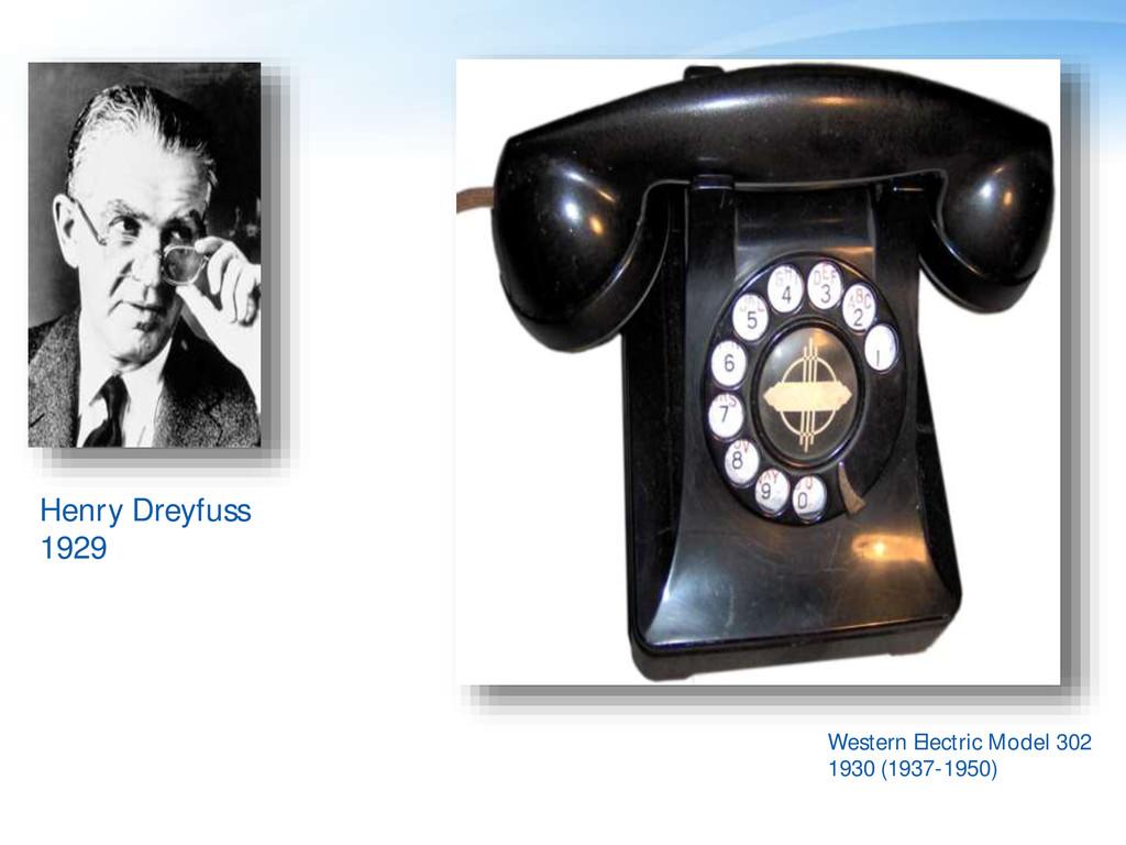 Henry Dreyfuss 1929 Western Electric Model 302 ...