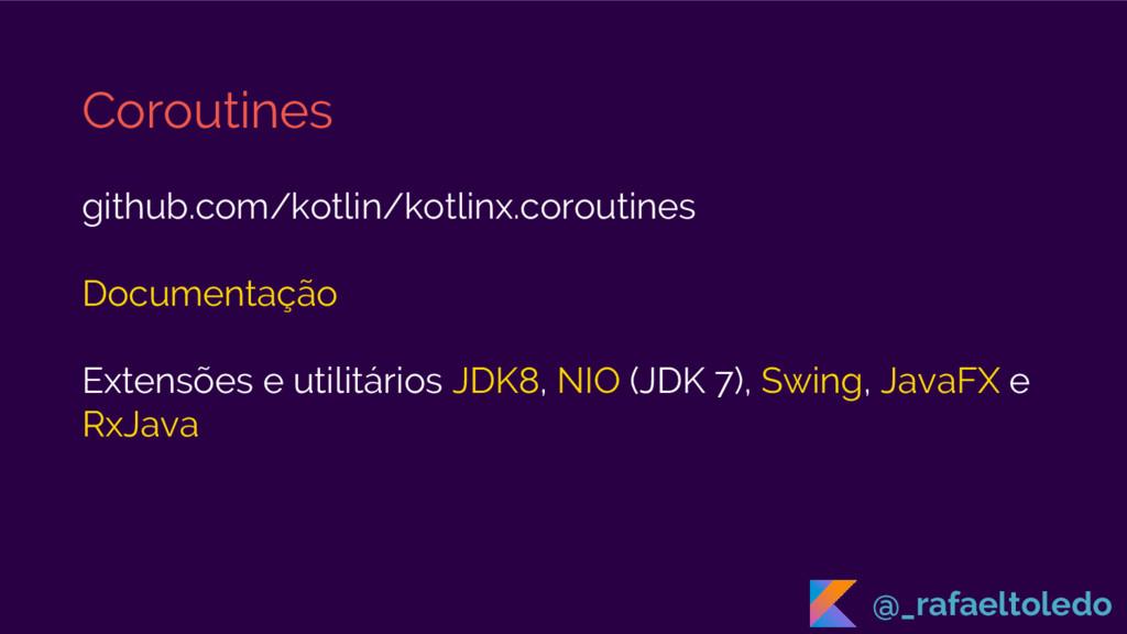 Coroutines github.com/kotlin/kotlinx.coroutines...