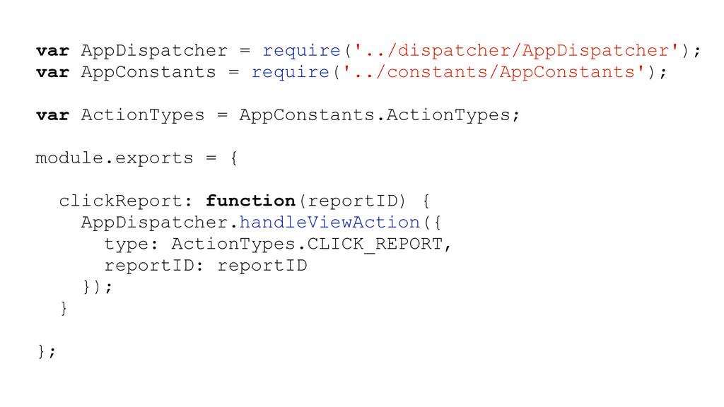 var AppDispatcher = require('../dispatcher/AppD...