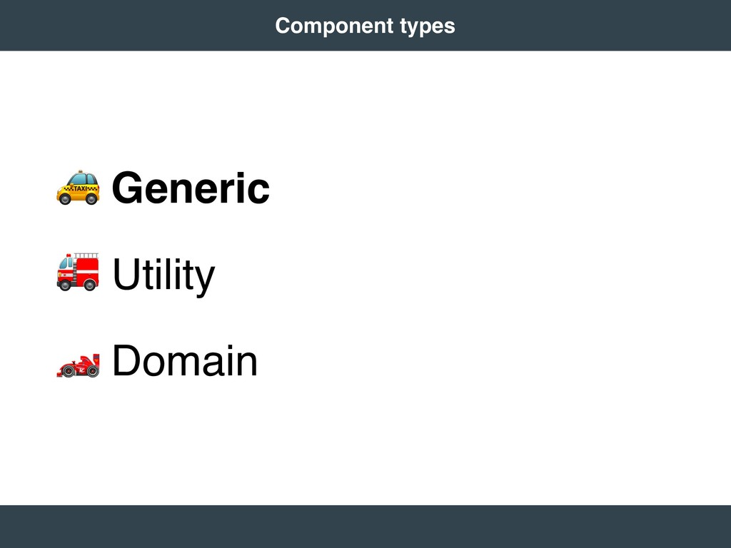 "! Generic "" Utility # Domain 