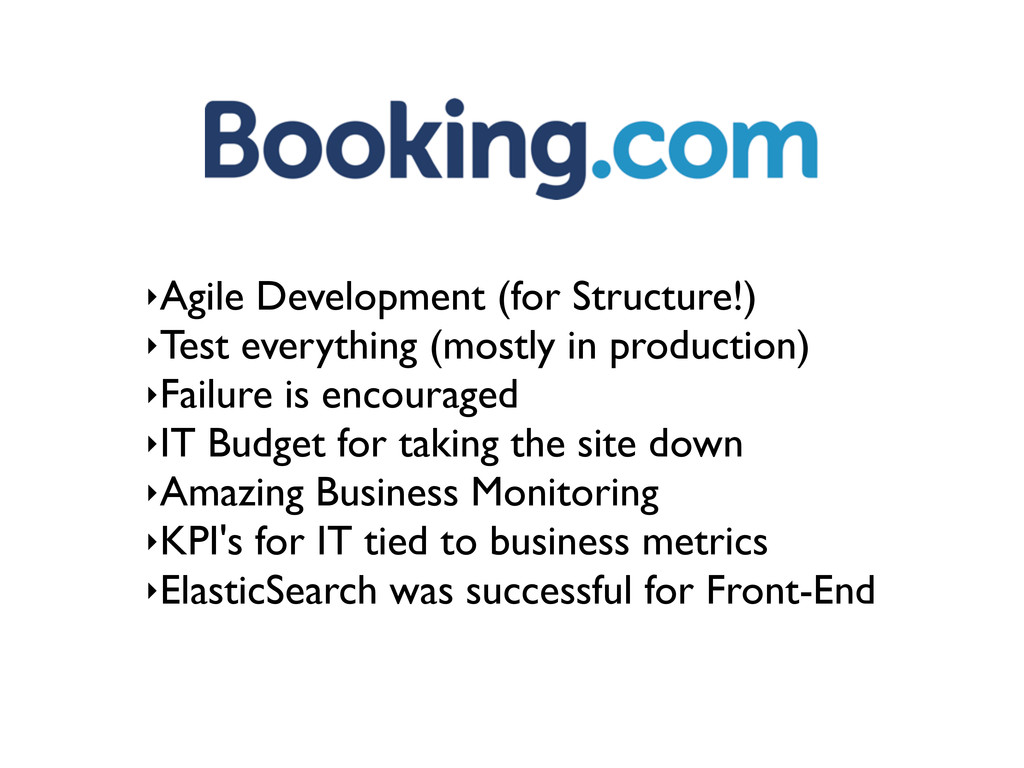 ‣Agile Development (for Structure!) ‣Test every...